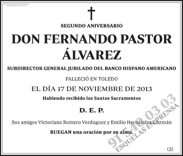 Fernando Pastor Álvarez